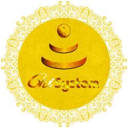 Goldenes Chi-System (Ø: 84 cm)