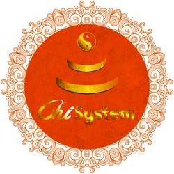 Oranges Chi-System (Ø: 84 Cm)