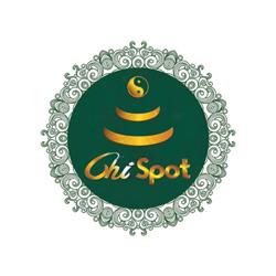 Grüner Chi-Spot (Ø: 34 Cm)