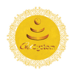 Goldenes Chi-System (Ø: 64 cm)