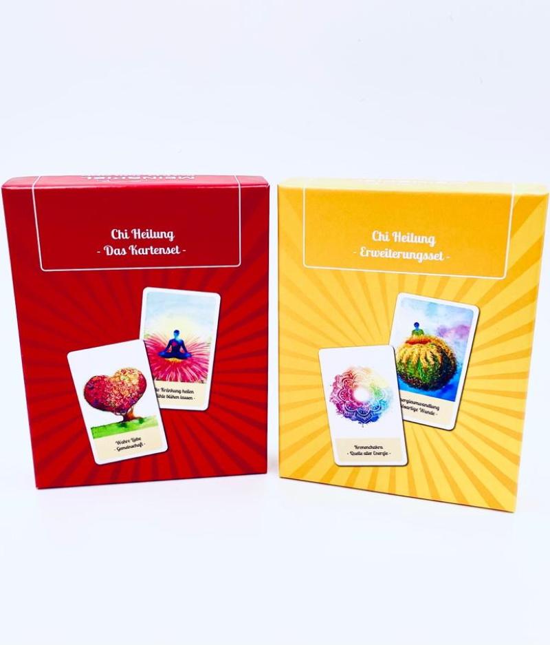 Chi-Heilung – Das Kartenset-Kombi-Paket
